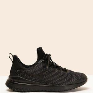 Nike rival running shoes women's black